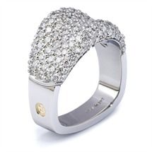 Crescendo Diamond Ring