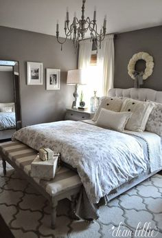 dark grey master bedroom ideas TOTAL GORGEOUSNESS!! ⚜