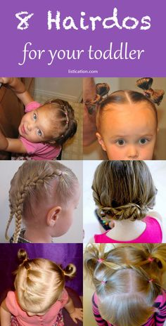 Awesome 10 Adorable Hairstyles For Toddler Girls Style Girls And Hair Style Hairstyles For Women Draintrainus