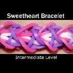 Rainbow Loom® Sweetheart Armband