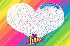 Más marcos infantiles de Soy Luna para aplicar en todo momento!. Decoración de útiles y libretas escolares, ya que podrás reducir el tamaño y utilizar a modo de sticker, como etiquetas para candy b…