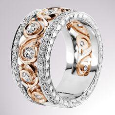KGBD 100-2 #WeddingRings #EngagementRings #DiamondRings #JackKelege