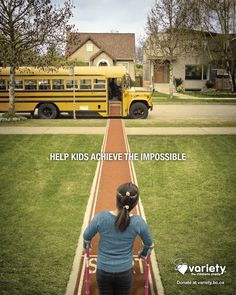 Variety The Children's Charity: Bus Help kids achieve the impossible.