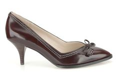 Womens Smart Shoes - Ancient Bombay in Ox-Blood Leather from Clarks shoes