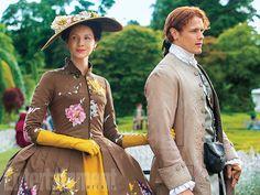 Claire and Jamie /season2