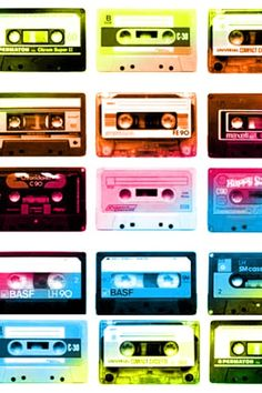 Cassette Tapes. Silver Wallpaper, Green Wallpaper, Trendy Wallpaper, Wallpaper Iphone Quotes Songs, Wallpaper Iphone Disney, Iphone Wallpapers, Yellow Accent Walls, Mobile Wallpaper Android, Ol Days