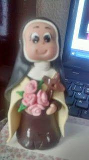 Lubiartes: Santa Terezinha em Biscuit