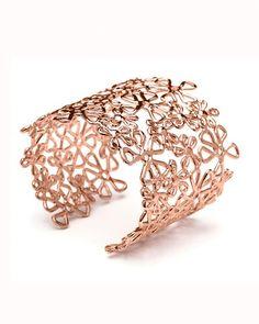 Rose gold cuff