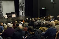 DIO E IL SUO DESTINO   Incontro con Vito Mancuso in occasione della pubblicazione del libro edito da Garzanti, 2015 ne discute con l'autore Corrado Augias   Teatro Eliseo, 18 gennaio 2016   Ph. Gioia Maruccio