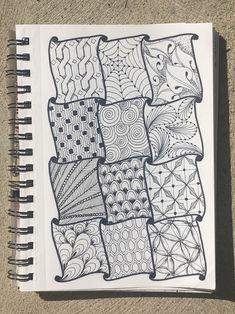 zentangle patterns doodles drawing doodle easy zen pencil pattern mandala drawings zentangles trendy