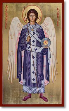 St. Raphael the Archangel original icon 48' tall