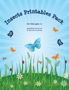 FREE Insect Printables
