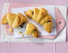 Nicht nur zum Frühstück ein Hit: Selbstgemachte Schoko-Croissants