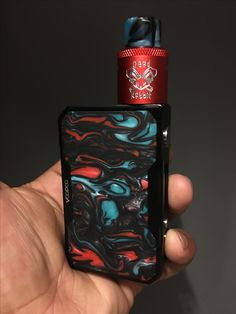 Dead rabbit rda by hellvape sitting on the drag by voopoo