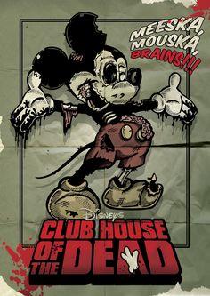 Zombie Mickey Mouse - Dan Shearn