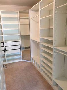 Walk in closet, Pax ikea: More