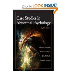 case study abnormal disorders in children ngoc (lily) le abnormal psychology case study #3 – mood disorders 29 may 2014 1 the different mood disorders that we explored together as a class are as following: depressive disorders and bipolar disorders.