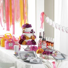 One of the easiest ways to plan a bridal shower no one will forget is to give the event a theme. #bridalshower