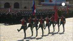 Rusia celebra con ardor guerrero el Día de la Victoria