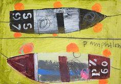 Two Boats  Elaine Pamphilon