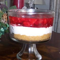 Pretzel/Cream Cheese/Cool Whip/Strawberries....One of my all time favorite recipes :)