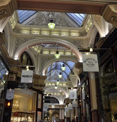 Love The Block Arcade in Melbourne, and the Hopetoun Tea Rooms is a must when visiting Melbourne
