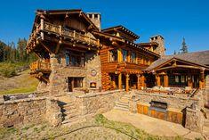 Log Cabin Getaways, Getaway Cabins, Castle Floor Plan, Yellowstone Club, Summit View, Moose Lodge, Alpine Chalet, Wooden Cabins, Mountain Modern