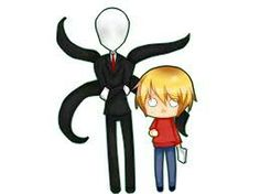 Chibi pewdipie and slendy upload by mestake