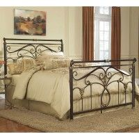 Lucinda Iron Bed in Marbled Russet by Fashion Bed Group