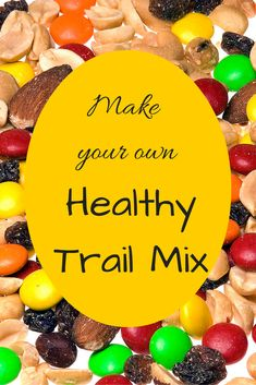 Make Your Own Healthy Trail Mix Travel Snacks - Traveling Mom Road Trip Snacks, Travel Snacks, Make Your Own, Make It Yourself, How To Make, Trail Mix Recipes, Real Moms, Great Recipes, Yummy Recipes