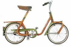 Duemila Folding Bike. Italy Late 60's.