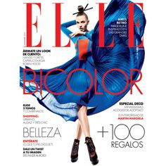 Elle Mexico November 2011 Cover Daniela Mirzac by Santiago Ruisenor ❤ liked on Polyvore