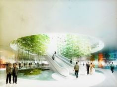 Green Valley Project   schmidt hammer lassen architects & East China Architecture and Design Institute   Bustler: