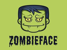 Zombie Face Logo by Alberto Bernabe