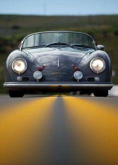 Vehicles for Adventure | Porsche 356 Speedster