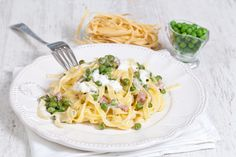 Romige pasta met ham | Vleeschwaar recept van Smulweb