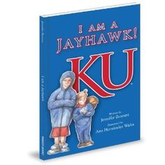 This is a wonderful book for all KU Jayhawk lovers!! It has beautiful pictures and a wonderful rock chalk chant for your kiddos!! Check it out!!