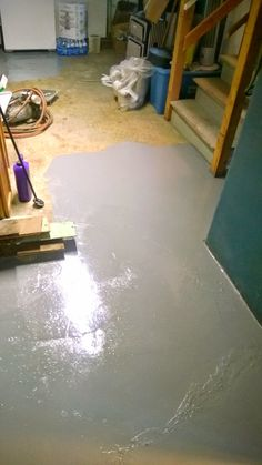 New Water On Basement Floor after Rain