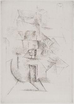 Pablo Picasso (Pablo Ruiz Picasso) Max Jacob - Saint Matorel: Le Couvent (Saint Matorel: The Convent) Pablo Picasso, Bombing Of Guernica, Dali Paintings, Barcelona, Spanish Painters, Philadelphia Museum Of Art, Limited Edition Prints, Art World, Printmaking