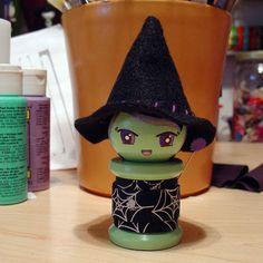 Morgan - the spool doll. by boxsquare., via Flickr