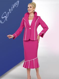 036c5fe5321 Executive Collection by BenMarc International Women Church Suits