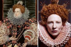 """Elizabeth"", Queen Elizabeth I and Cate Blanchett"