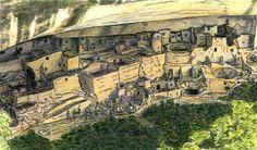 See | Me - Mesa Verde Art1 jGibney The MUSEUM Zazzle