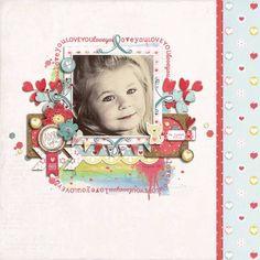 Love & Adore You - Digital Scrapbooking Ideas - DesignerDigitals