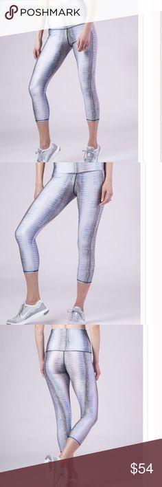 ef0c5887dd Selling this Aiyana Ice Blue Capri Legging on Poshmark! My username is  Hsu  Designs