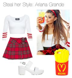 """Steal her style: Ariana Grande- Chloe"" by imaginegirl1d5sos ❤ liked on Polyvore"