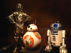 Star Wars and the Power of the Costume, costumes and props from all seven movies, including The Force Awakens.  dcp blog 2016