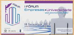 Criamos diversos elementos para a divulgação do Fórum Empresas & Universidades da Universidade dos Açores, entre eles, capas, template de Powerpoint, lonas, convites e flyers. Criamos também cartazes para o evento, bem como versões personalizadas para os Departamentos da Universidade