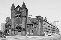 Ok, by popular demand, a first public airing for some b&w photos I took with a Yashica 44 (from Charles Frank in the Saltmarket) in The dest Gorbals Glasgow, The Gorbals, Glasgow City, Scottish People, Tower Block, The Second City, Old Churches, Most Beautiful Cities, Romanesque