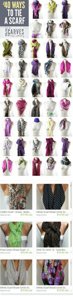 Scarf on -ETSY